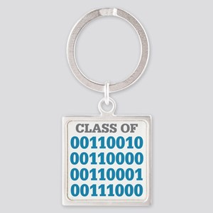 Class Of Square Keychain