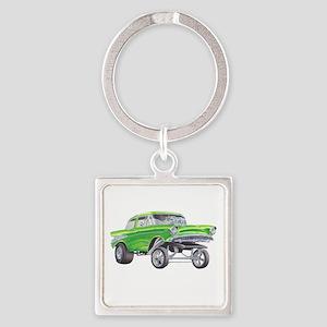 57 Green Gasser  Keychains