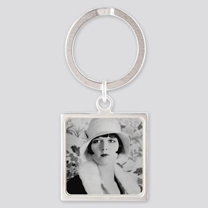louise brooks silent movie star Keychains
