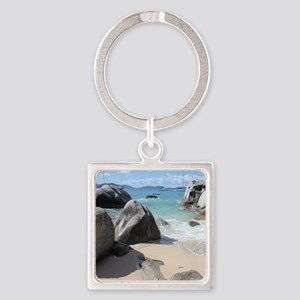 The Baths Square Keychain