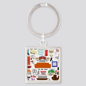 Friends TV Show Gifts Keychains