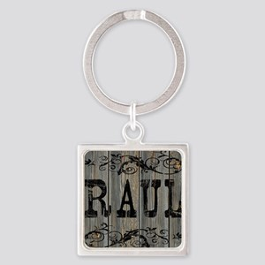 Raul, Western Themed Square Keychain