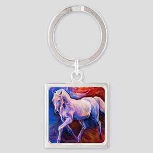 Horse Painting Keychains