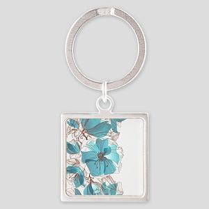 Pretty Floral Keychains
