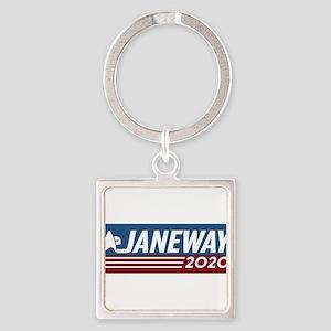 Vote Janeway 2020 Keychains