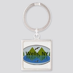 Wells, NY Keychains
