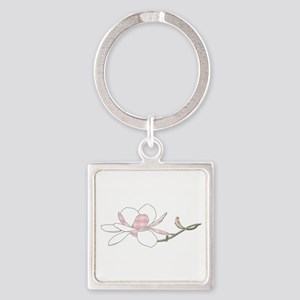 Southern Magnolia Keychains