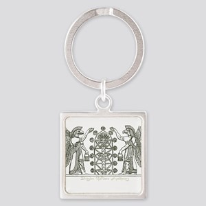 Babylonian Tree of Life and Enlightenment Keychain
