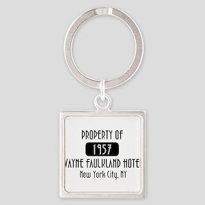 Property of the Wayne Faulkland Hotel Square Keych
