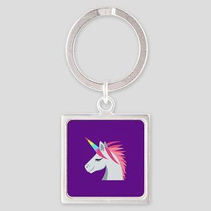 Unicorn Emoji Keychains