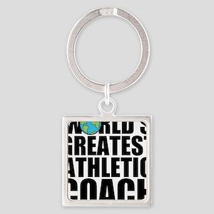 World's Greatest Athletic Coach Keychains