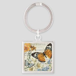 modern vintage butterfly Keychains