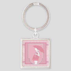 pink pregnancy Keychains