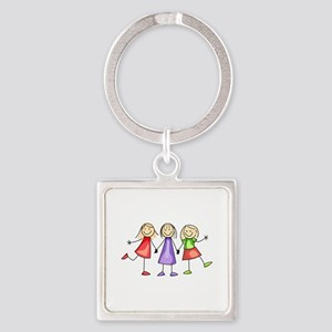 BEST FRIENDS FOREVER Keychains