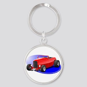 _02_32_Ford_Roadster_Final_NT.png Round Keychain