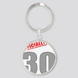 officially_30 Round Keychain