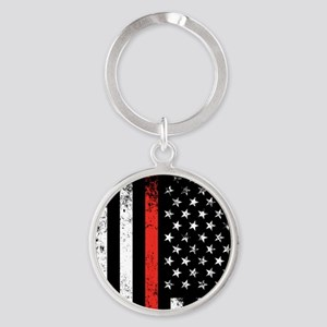 Firefighter Flag Keychains