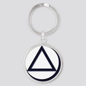 A.A._symbol_LARGE Round Keychain