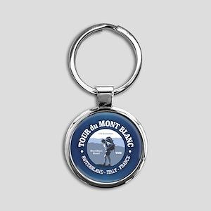 Tour du Mont Blanc Keychains