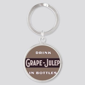 Grape Julep Soda 11 Keychains