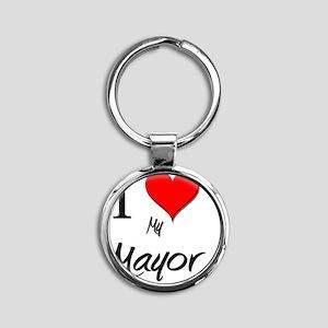 Mayor87 Round Keychain