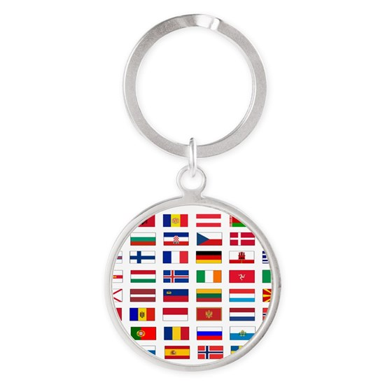 European flags bag