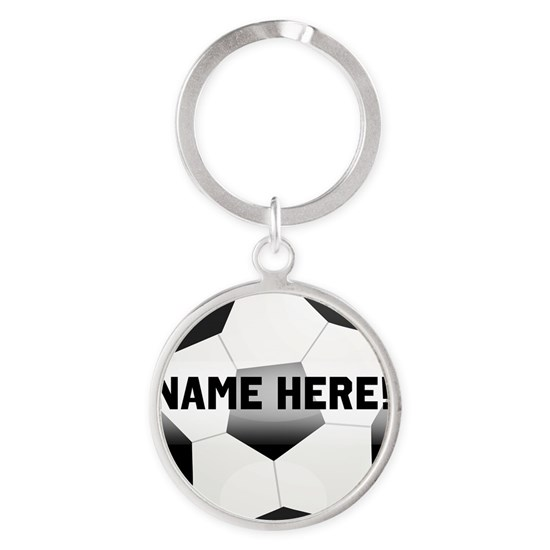 Personalized round soccer ball