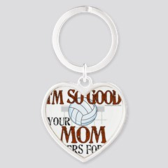 Mom Cheers Volleyball Sticker Oval I M So Good
