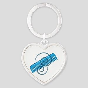 Swirly Comb Keychains