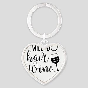 Funny Wine Drinking Design Keychains