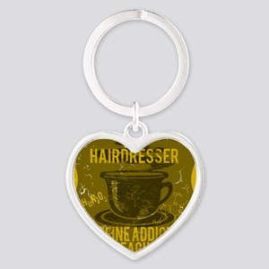 HAIRDRESSER Heart Keychain