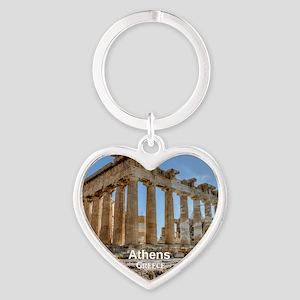 Athens Heart Keychain