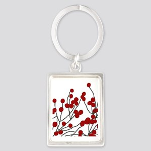 winterberries Portrait Keychain