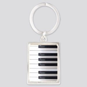 Keyboard 4 Portrait Keychain
