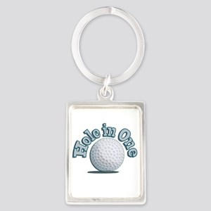Hole in One (txt) Keychains