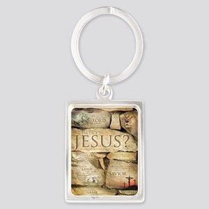 Names of Jesus Christ Portrait Keychain