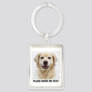 Dog Photo Customized Portrait Keychain