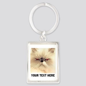 Cat Photo Customized Portrait Keychain