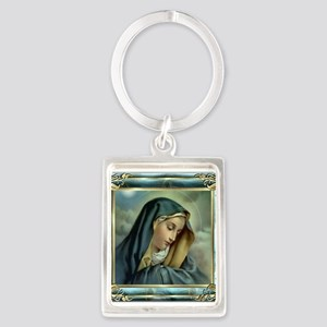 Our Lady of Sorrows Portrait Keychain