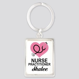 Nurse Practitioner personalized Keychains