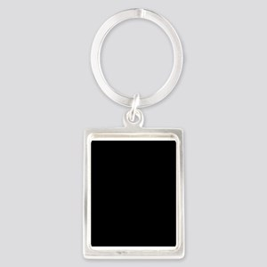 Solid Black Color Keychains