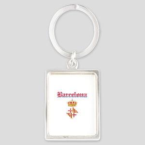 Barcelona designs Portrait Keychain