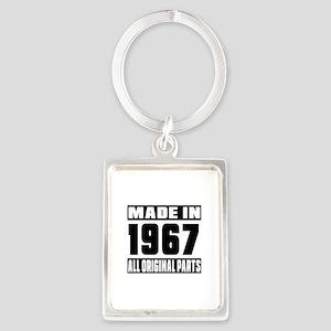 Made In 1967 Portrait Keychain