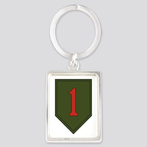 1st Infantry Division Portrait Keychain