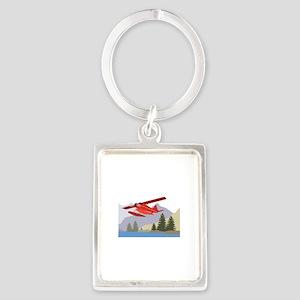 Alaska Plane Keychains