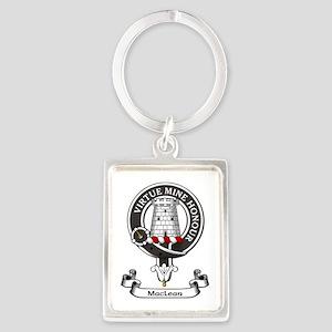 Badge-MacLean Portrait Keychain