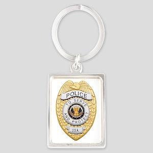 Police Badge Keychains