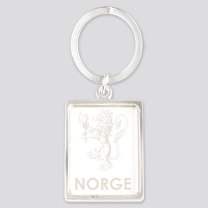 Norge1Bk Portrait Keychain