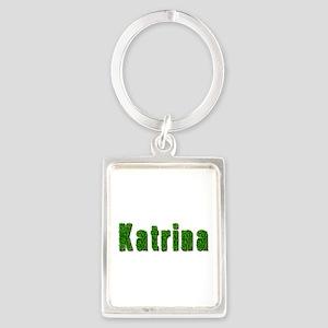 Katrina Grass Portrait Keychain