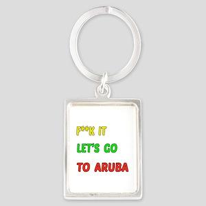Let's go to Aruba Portrait Keychain
